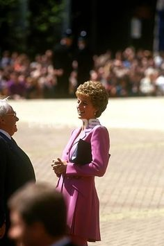 May 6, 1993: Princess Diana at the Victoria Square Re-Opening, Birmingham.