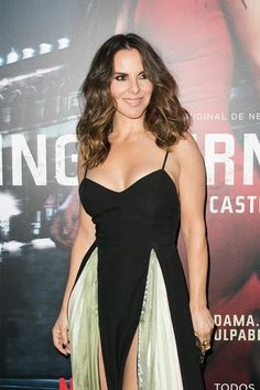 Kate del Castillo arrives at the Premiere Of Netflix