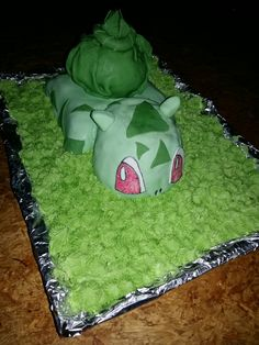Bisasam Pokemon, Cake, Desserts, Food, Craft, Pie Cake, Meal, Cakes, Deserts