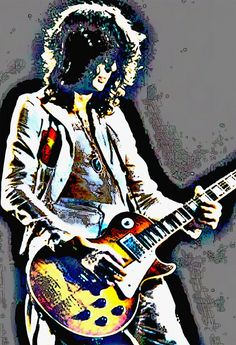 Jimmy Page Guitar GOD, Led Zeppelin Guitarist.