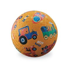 Buy Crocodile Creek 7 Inch Play Ball - Vehicles Sounds Yellow  by Crocodile Creek online and browse other products in our range. Baby & Toddler Town Australia's Largest Baby Superstore. Buy instore or online with fast delivery throughout Australia.