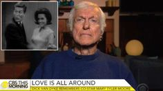 """""""The chemistry that happened between us was just serendipity,"""" Dick Van Dyke told CBS """"This Morning"""" about Mary Tyler Moore. The 91-year-old actor added: """"We thought we were the best dance team since Astaire and Rogers and best comedy team since Laurel and Hardy."""" After her passing, he tweeted a classic clip singing and dancing with her on """"The Dick Van Dyke Show"""" back in 1964."""