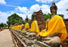 wat yai chai mongkhon ayutthaya