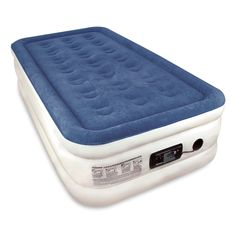 Camping accessories :Twin Sized SoundAsleep Dream Series Air Mattress with ComfortCoil Technology and Internal High Capacity Pump -- Check out this great image : Camping accessories