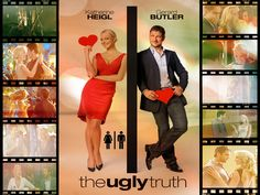 0932607eb6 The Ugly Truth Movie Poster 27 X 40 Katherine Heigl Gerard Butler
