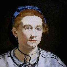 Edouard Manet. 1832-1883. Paris. Victorine Meurent. vers 1862. . Hambourg Kunsthalle.