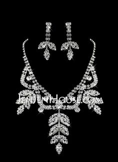Jewelry - $19.99 - White Pearl Two Piece Nature Ladies' Jewelry Set (45 cm)  (011005858) http://jenjenhouse.com/White-Pearl-Two-Piece-Nature-Ladies-Jewelry-Set-45-Cm-011005858-g5858