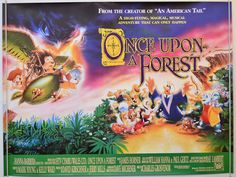 Once Upon A Forest - Original Cinema Movie Poster From pastposters ...
