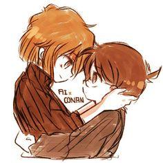 !_! Detective Conan Shinichi, Kudo Shinichi, Greatest Mysteries, Magic Kaito, Case Closed, Childhood Friends, Character Aesthetic, I Love Anime, Anime Ships