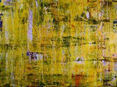 "Saatchi Art Artist Nestor Toro; Painting, ""Gleaming Spectra (Yellow landscape) by Nestor Toro"" #art"