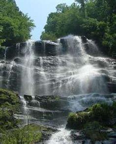 Dukes Falls, Blue Ridge, Georgia