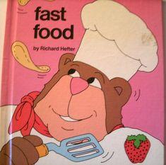 Fast Food A Stickybear Book Richard Hefter 1983 LoveVintageAlways