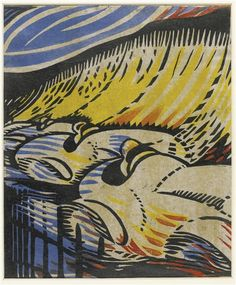 Claude Flight - Brooklands (ca. Pottery Sculpture, Old Master, Linocut Prints, Art Pictures, Photos, Vintage Prints, Art Inspo, Art History, Printmaking