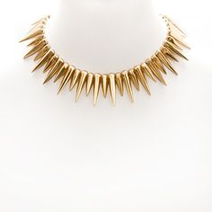 Fang Collar Necklace by nOir Jewelry
