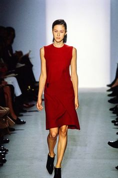 Calvin Klein Collection Fall 1997 Ready-to-Wear Fashion Show - Natane Boudreau