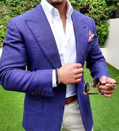 Let us make this style just for you. Blazer Fashion, Suit Fashion, Mens Fashion, Fasion, Blazers For Men Casual, Casual Blazer, Navy Blazer Men, Mens Style Guide, Suit And Tie