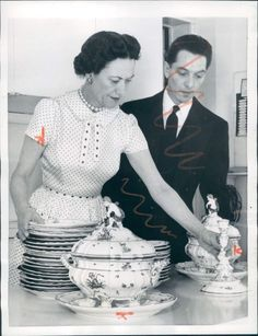 Tea Time with The Duchess of Windsor