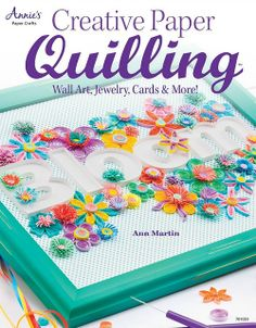Fantastic giveaway + Lovely site all about QUILLING