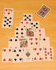 Activities: Pyramid Math Card Game