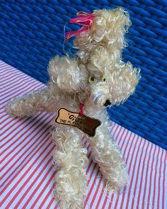 GiGi Poodle - vintage wire & string dog