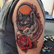 Resultado de imagem para Animais tradicional tatuagem