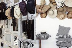 Blog Déco nordique - Tendance / Des chapeaux dans la déco