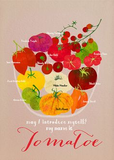Heirloom Tomatoes by Sevenstar aka Elisandra, via Flickr