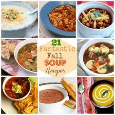 Serve It Hot: 21 Fantastic Fall Soup Recipes