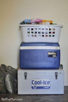 Camping Food: Preparing, Transporting