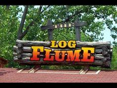 Six Flags St. Louis Log Flume On Ride POV 2015