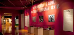 Indigenous people in three climates — Etnografiskamuseet Exhibitions, Climate Change, Neon Signs, Amazons