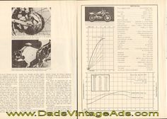 1973 Ossa 250 SDR Road Test / Specs