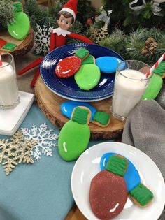 Brighten up your Christmas with @cristinacooks' Christmas Light cookies! #christmaskeepsake #christmas #christmascookies #cookies #sweets #homeandfamily #homeandfamilytv