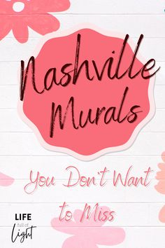 20 Murals in Nashville You Don't Want to Miss - Looking for some cool street art to add to your Instagram feed? The best photo spots in Nashville are in front of the amazing and colorful murals! Check out this list from Life Full of Light of the best murals in Nashville, Tennessee, and where to find them. #streetart #nash #visitnashville #visitmusiccity #visittn