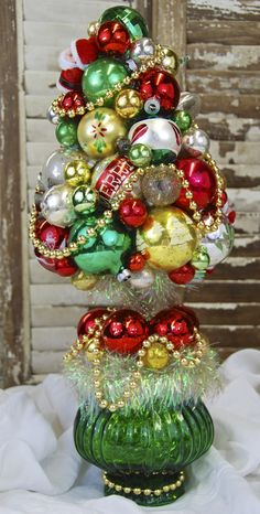 Topiary by Glittermoon Vintage Christmas