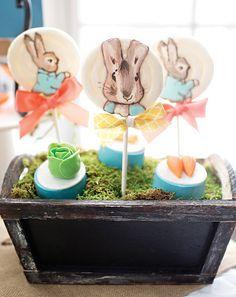 Peter Rabbit Lollipops & 'vegetable' sweets