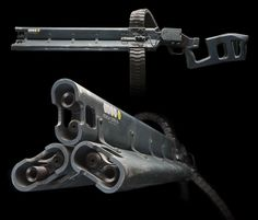 Avatar was the first project that I worked on for Weta. However, I was involved in some way on most of the items produced by the Workshop. Sci Fi Weapons, Weapon Concept Art, Fantasy Weapons, Weapons Guns, Guns And Ammo, Armes Futures, Cyberpunk, Killzone Shadow Fall, Airsoft