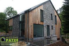Maison basse énergie à ossature bois