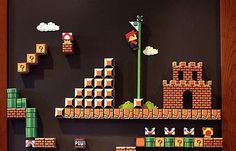 love the 3D version listed on the page-Mario Craft Board