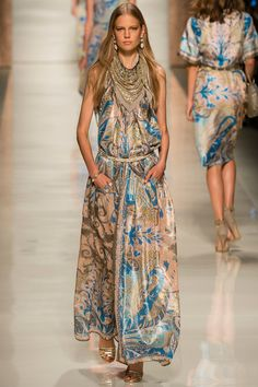 Etro dress from Spring 2014 collection
