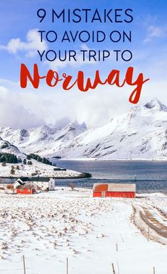 9 Mistakes People Make on Their Trips to Norway If you're planning any Norway holidays, here are the top mistakes people make on their trips to Norway so you can avoid them! Norway Vacation, Norway Travel, Trips To Norway, Honeymoon In Norway, Hiking Norway, Cool Places To Visit, Places To Travel, Places To Go, Tromso