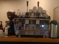 Just started working with this machine. anyone familiar with it? #coffee #cafe #espresso #photography #coffeeaddict #yummy #barista
