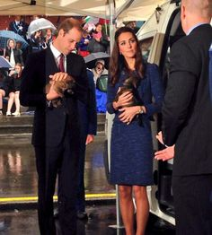 Stop Everything: Kate Middleton and Prince William Are Playing With Puppies.