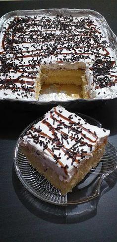 Πολύ πολύ ελαφριά Πάστα ταψιού Greek Sweets, Greek Desserts, Summer Desserts, Greek Recipes, Candy Recipes, Cookie Recipes, Dessert Recipes, Donuts, Greek Dishes