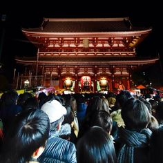"@Teresa Murphy's photo: ""#浅草寺 #浅草 #初詣"""