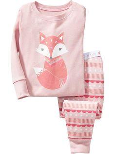 Fox Sleep Sets for Baby