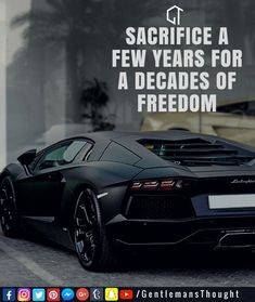 SACRIFICE A FEW YEARS FOR A DECADES OF FREEDOM #gentlemansthought #men #lifequote #Inspirational #inspiredaily #inspired #hardworkpaysoff #hardwork #motivation #determination #businessman #businesswoman #business #entrepreneur #entrepreneurlife #entrepreneurlifestyle #businessquotes #success #successquotes #quoteoftheday #quotes #Startuplife #millionairelifestyle #millionaire #money #billionare #hustle #hustlehard #Inspiration #Inspirationalquote
