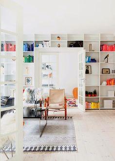 big bookshelf,