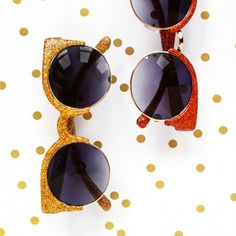 Add some sparkle to your sunglasses this summer!