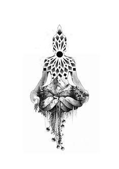 Dotwork Tattoo Mandala, Mandala Tattoo Design, Tattoo Design Drawings, Tattoo Sketches, Tattoo Designs, Mini Tattoos, Leg Tattoos, Flower Tattoos, Body Art Tattoos